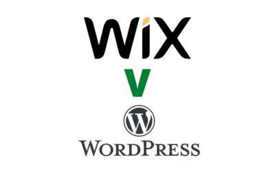 Wix V WordPress